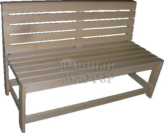 Скамья без подлокотников нераскладная (диван)