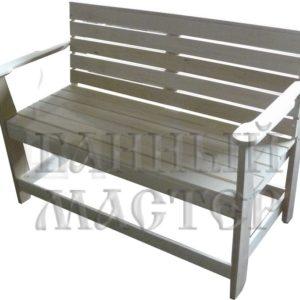 Скамья с подлокотниками разборная ( диван )