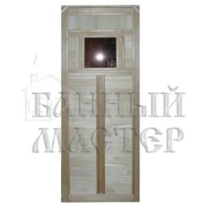 Дверь со стеклянной вставкой ДС-1