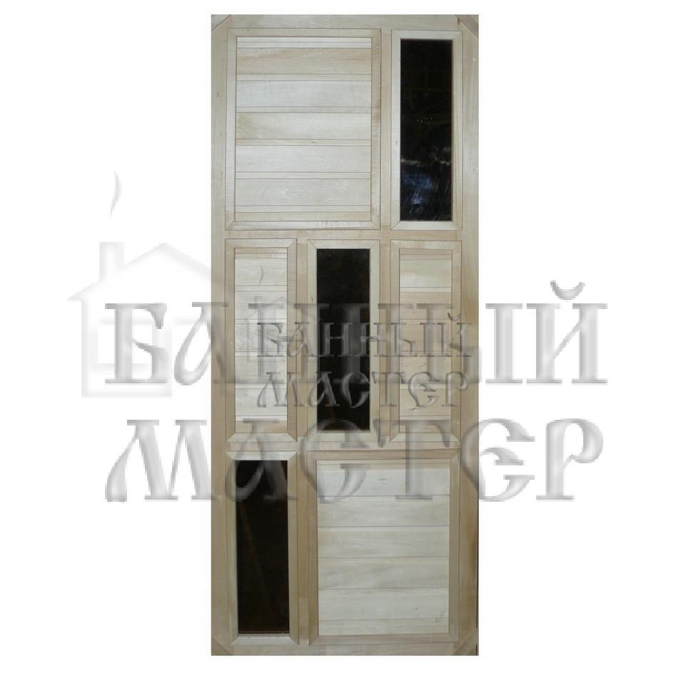 Дверь со стеклянной вставкой ДС-4