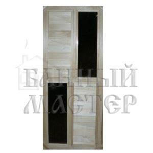 Дверь со стеклянной вставкой ДС-3