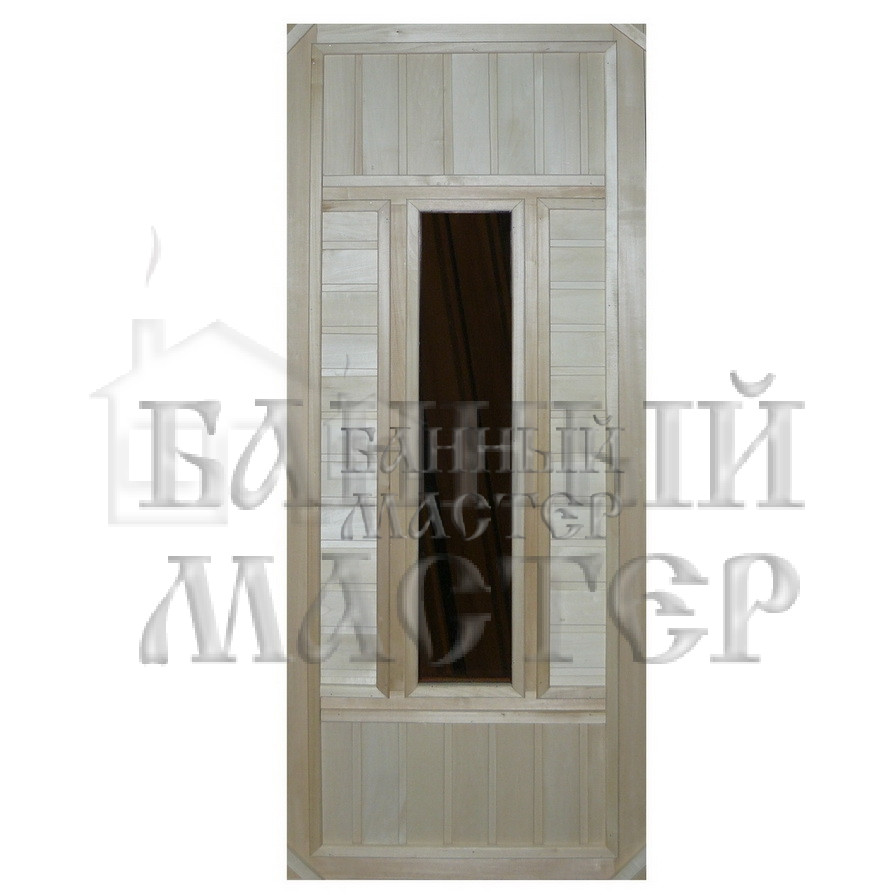 Дверь со стеклянной вставкой ДС-2
