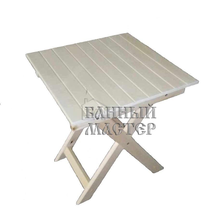 Стол раскладной (Квадратный) Усиленный 600х600х750