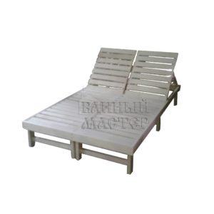 Лежак двойной
