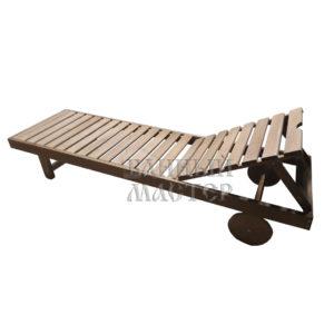 Лежак на колесиках